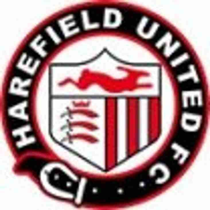 HAREFIELD UTD 4 - 1 AMERSHAM TOWN