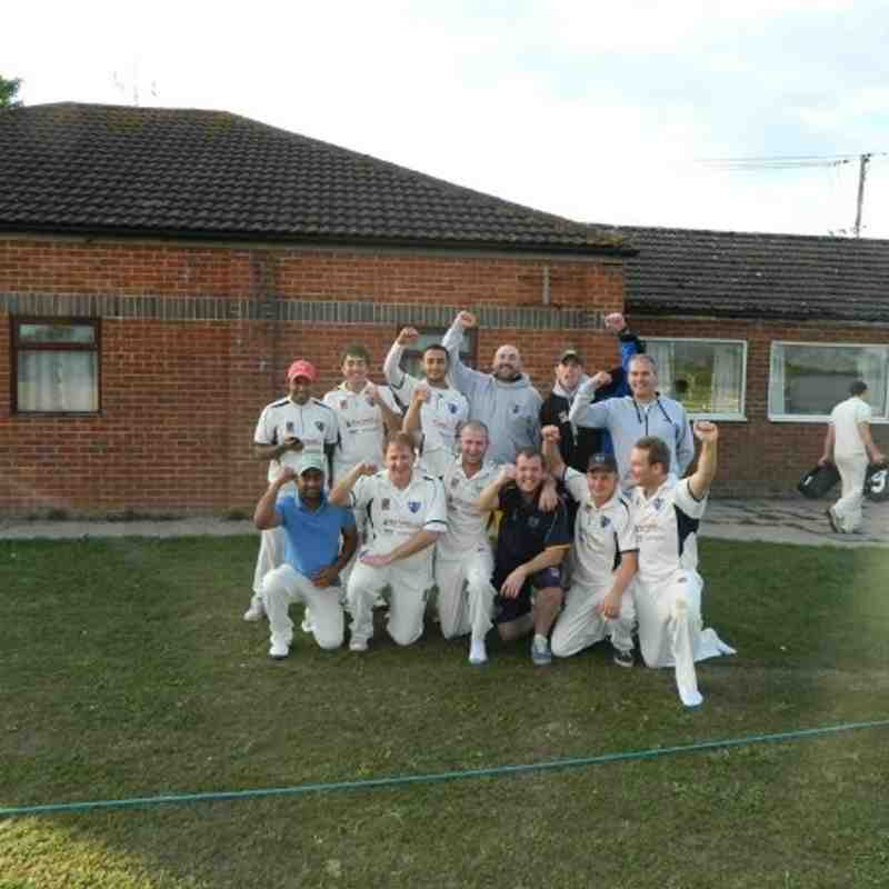 Winning Division 5 Away At Uffington