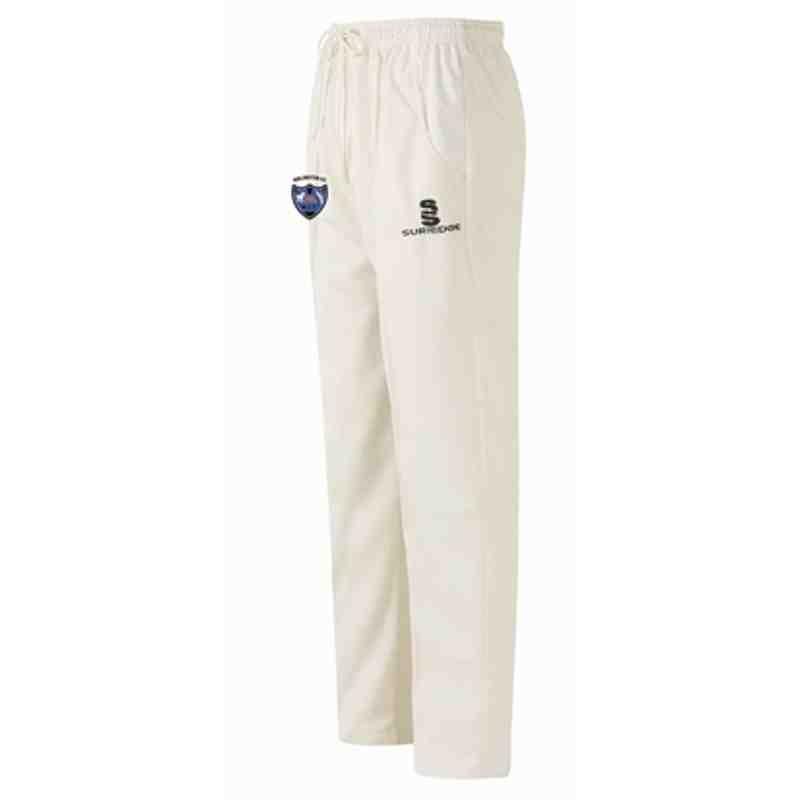 KCC White Trousers