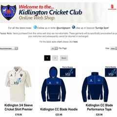 New KCC Club Shop Open!