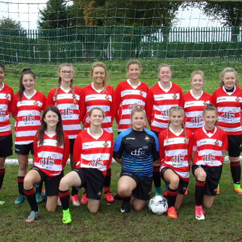 Belles Under 15s Reds beat Worksop Town JFC Girls 4 - 0