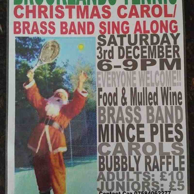 Carol and Brass Band Night