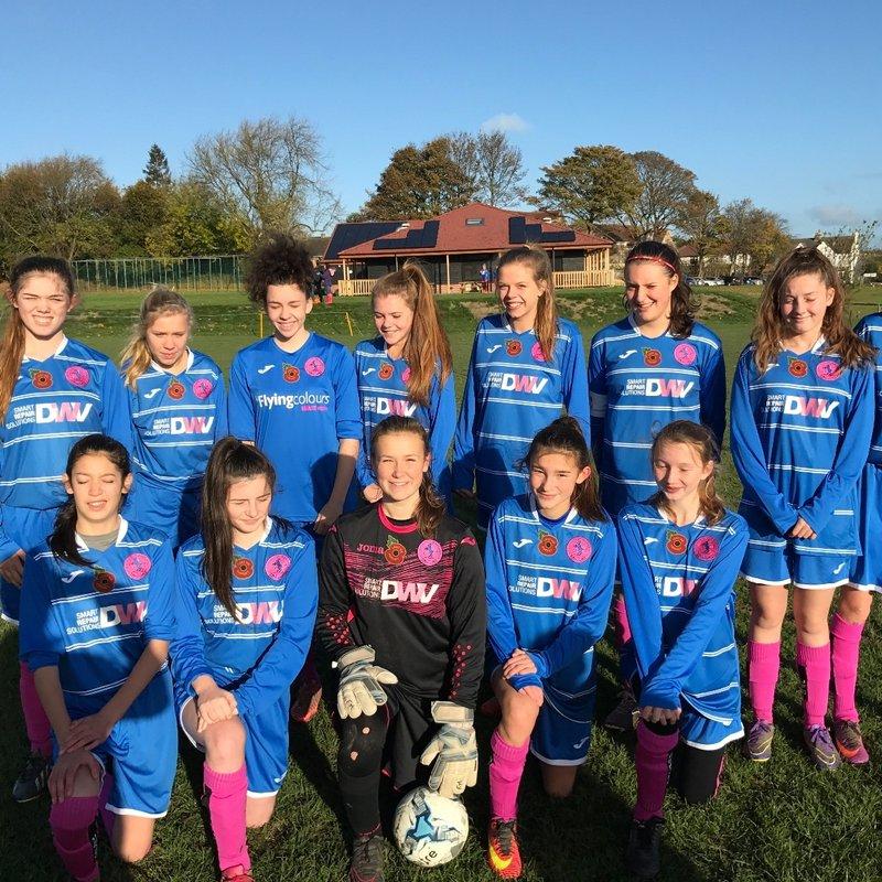 U15 Girls lose to Leeds Ladies 2 - 3