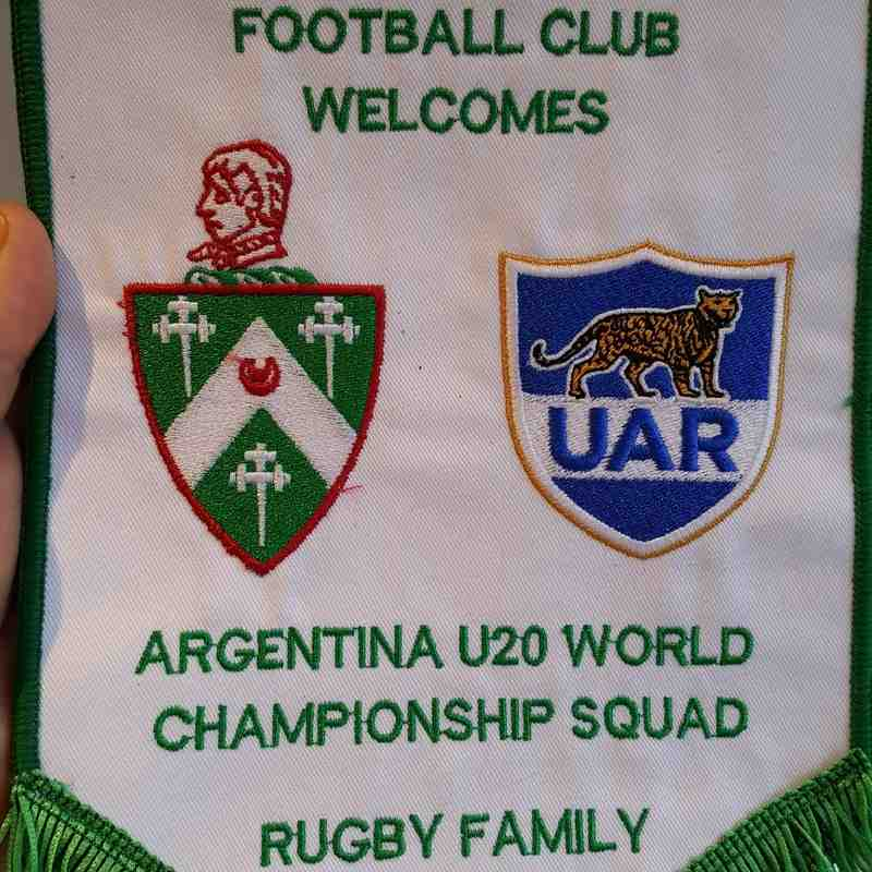 Argentina U20 Welcome Ceremony - Sunday 29th May
