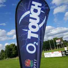 Great turnout at the launch of O2 Touch at Stockport RUFC!