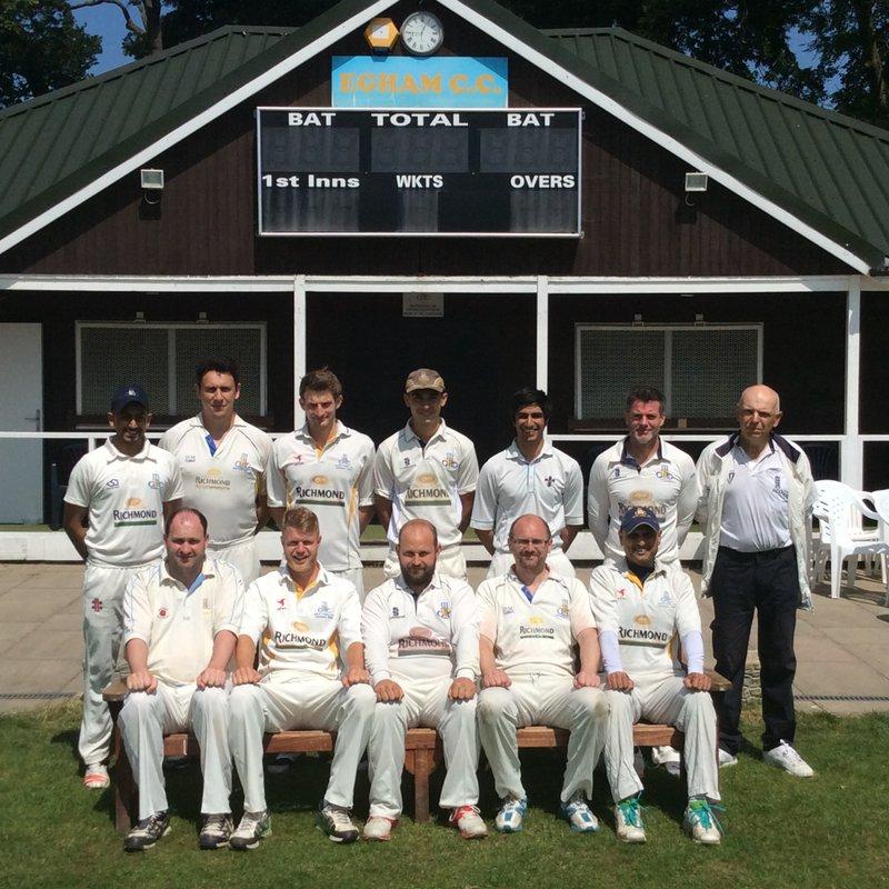 Egham CC - 2nd XI 162/4 - 161 Streatham & Marlborough CC - 2nd XI