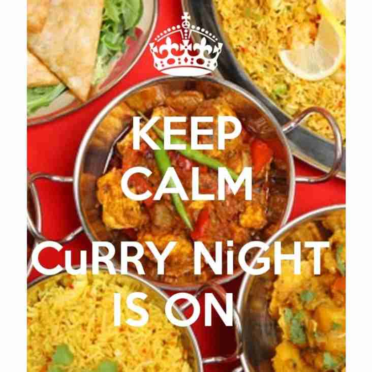 Come for a Curry this Saturday