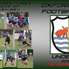 Oxford RFC U15's Season 2017/2017