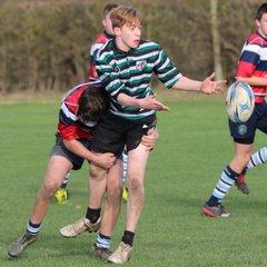 Oxford RFC U16's v Newbury 261117