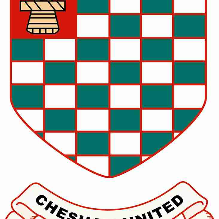 Chesham United - Seeking Club Officials