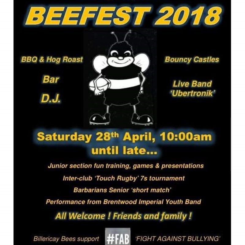 BeeFest weekend 2018 More Details