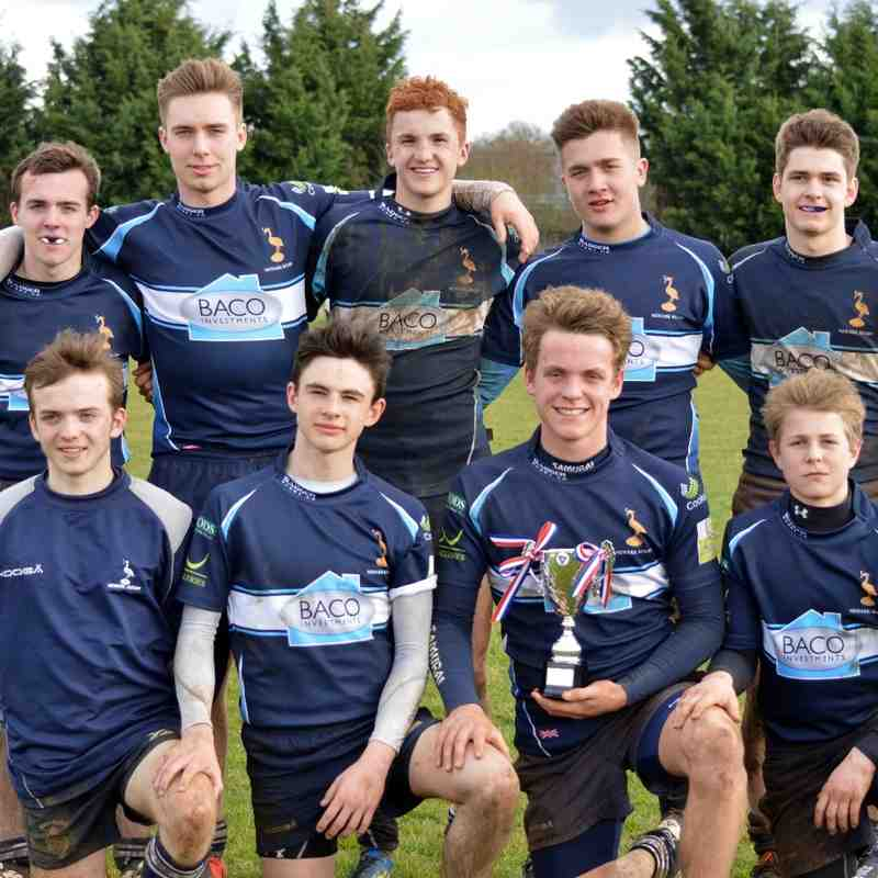 NLD U16 7's Tournament @ Sleaford 29.03.15 WINNERS!