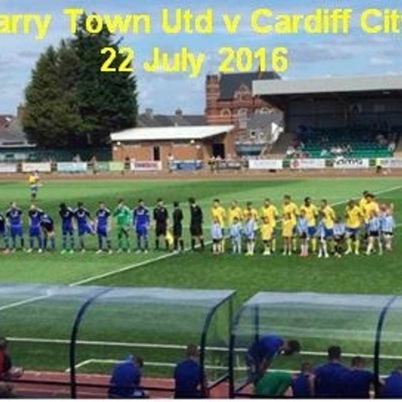 Barry Town United win promotion to Welsh Premier League