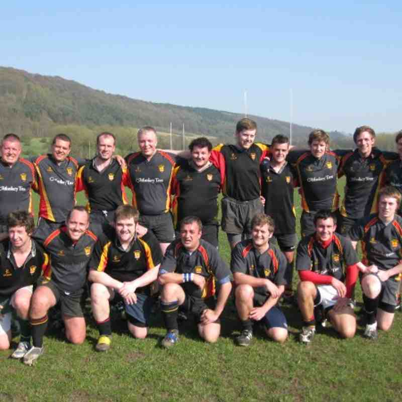 2nds v Bakewell