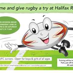 Juniors return to Halifax RUFC