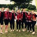 Halifax RUFC Ladies make a splash