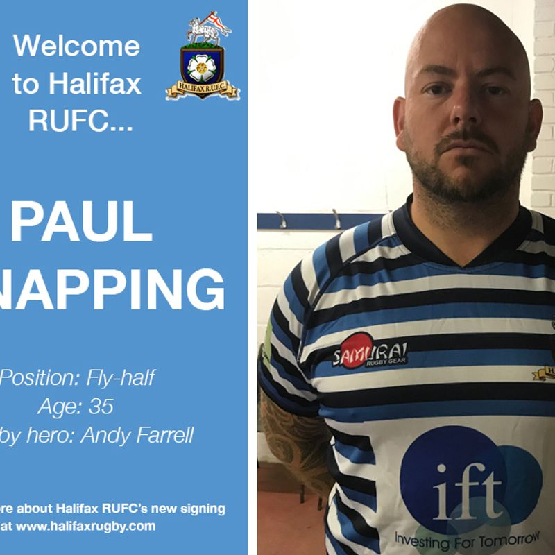 Meet the team: New signing Paul Knapping