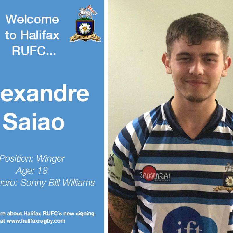 Meet the team: New signing Alex Saião