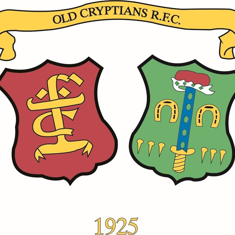 Old Cryptians RFC AGM - June 28th 7.00 pm