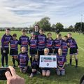 Under 11's  beat Old Newts Rugby Football Club 0 - 2