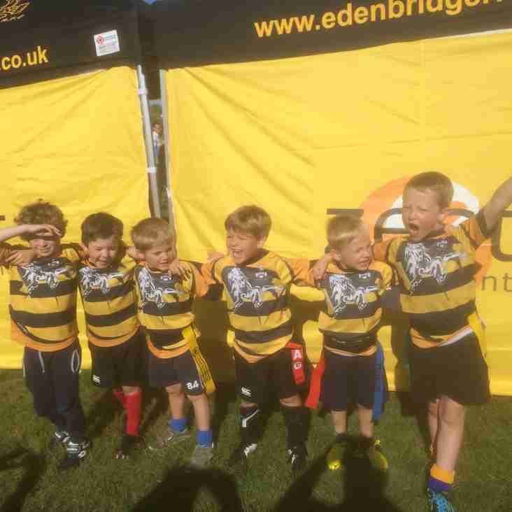 Under 7s Make their Festival Debut!!!