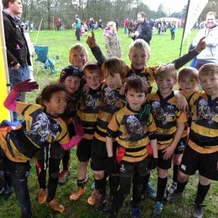 U8s Win Crowborough Festival