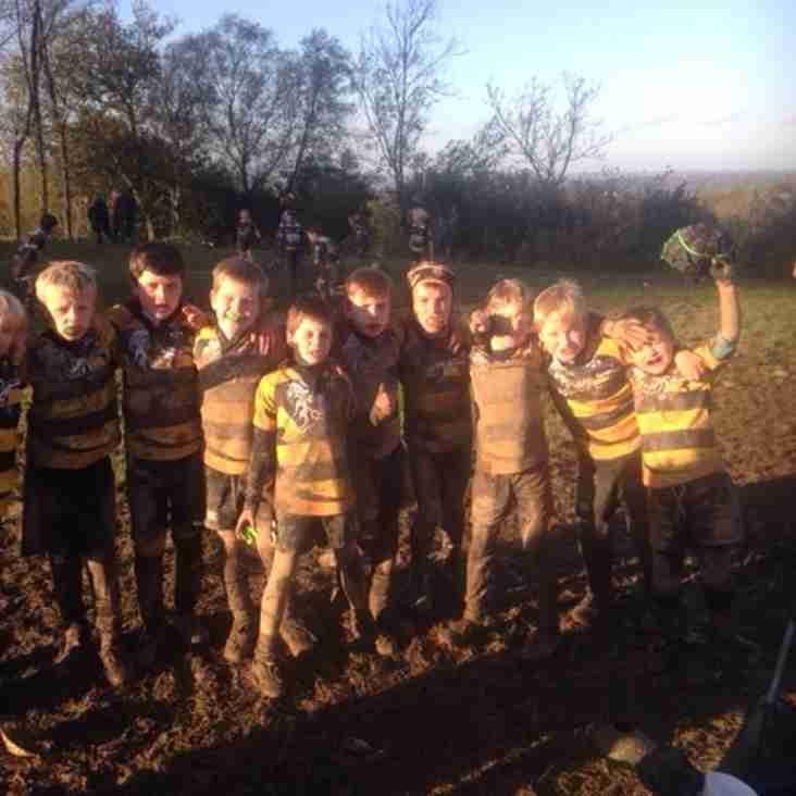 U9s Shine in the Crowborough Mud