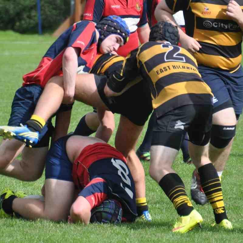 20160827 U18 v East Kilbride