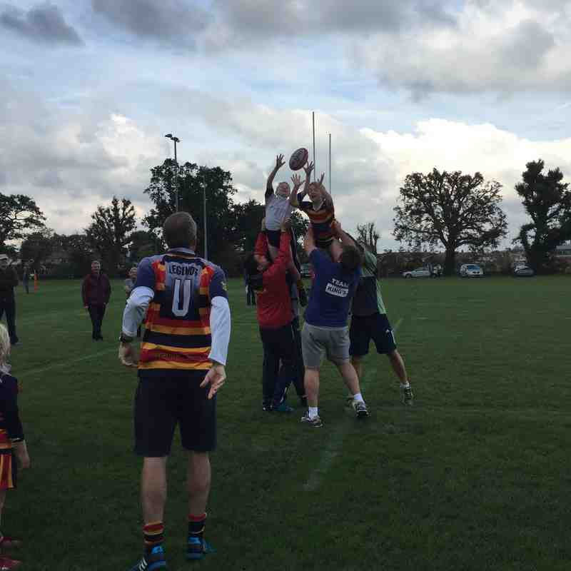 U8's start training for Japan 2019