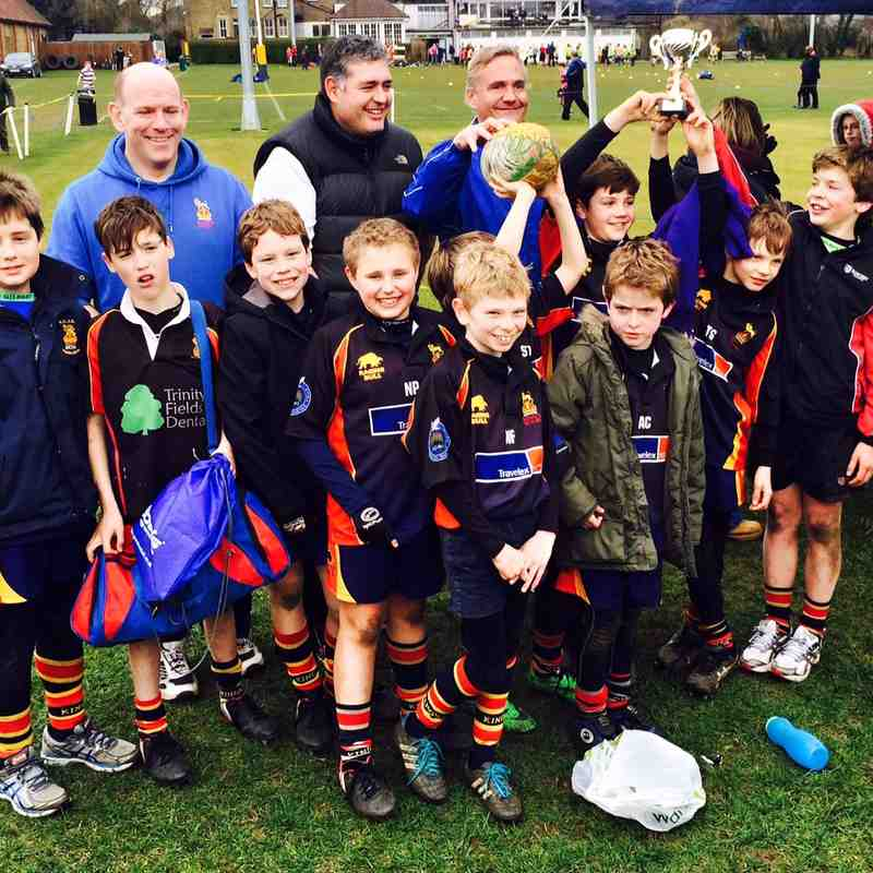 Kings U10's at Old Emanuel Festival 8 March 2015