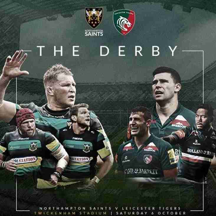 The derby Northampton vs Leicester