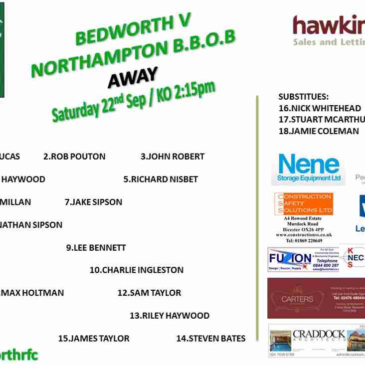 Bedworth RFC team is up