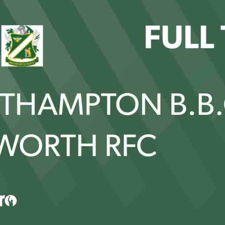 Bedworth RFC lose on the road
