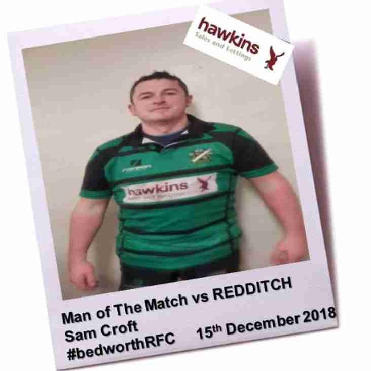 Bedworth RFC vs Redditch RFC