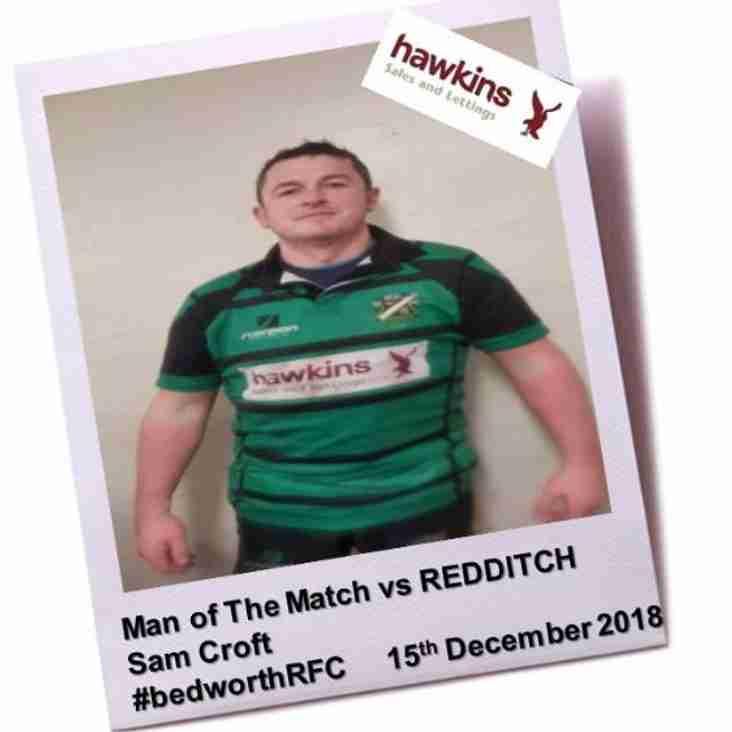 Bedworth RFC vs Redditch RFC