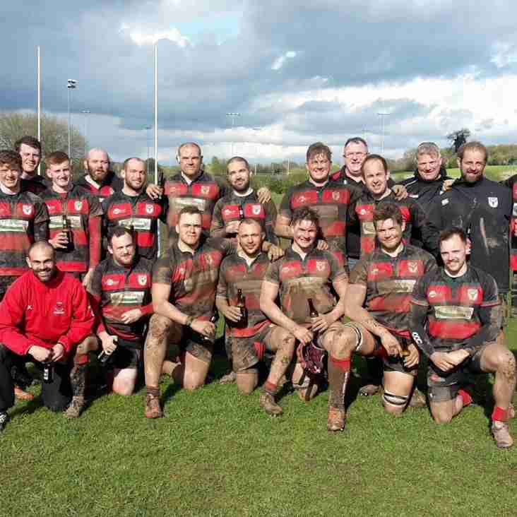 Dronfield Rugby Club 1st XV - Champions 2015/16