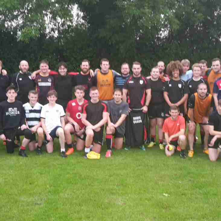 Pre- Season Training Has Begun - Drop the remote, put down the sausage rolls & pick up your boots!