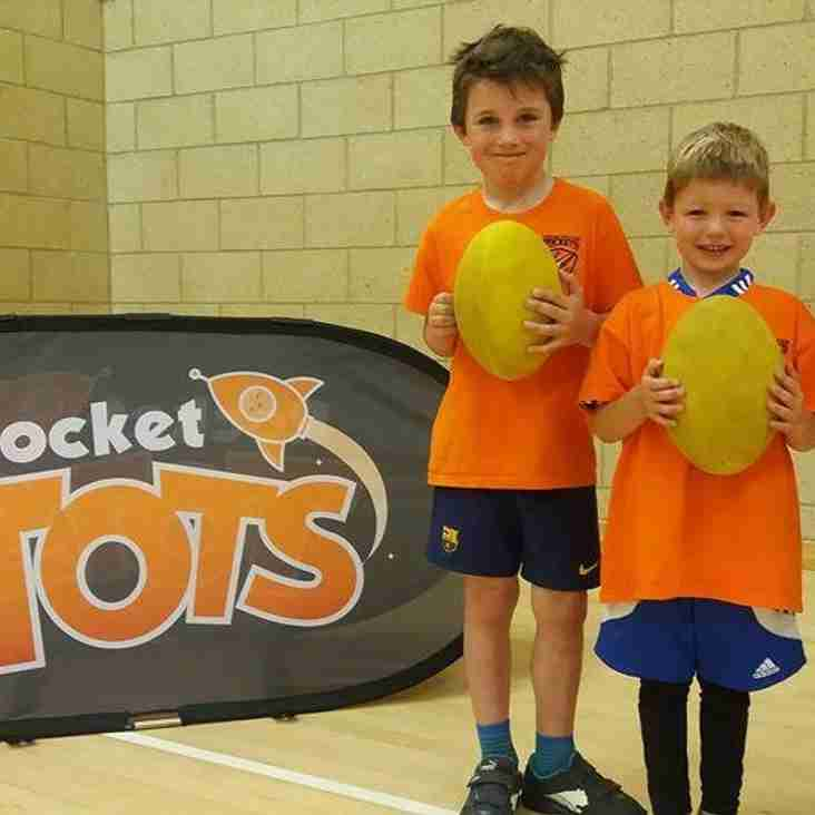 Rocket Tots at Concordia on Saturday