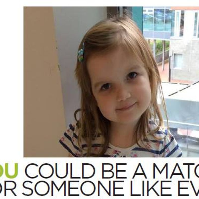 Give Evie the gift of life this Christmas