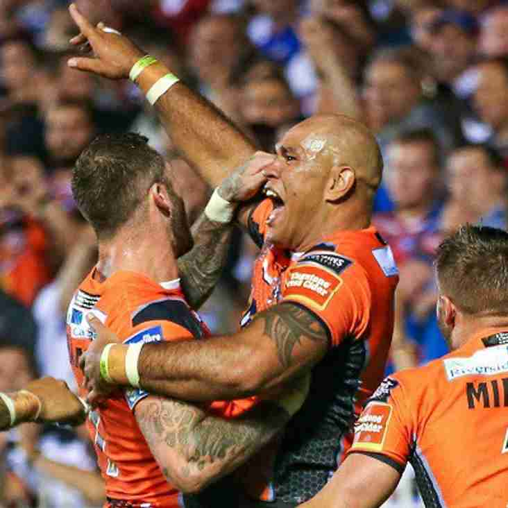 Watch Our Thunder Rockets Take on Castleford Tigers
