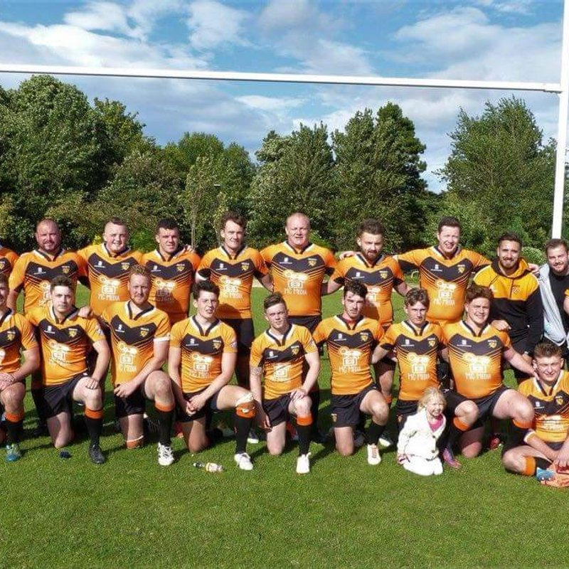 Rockets 1st XIII beat Edinburgh Eagles