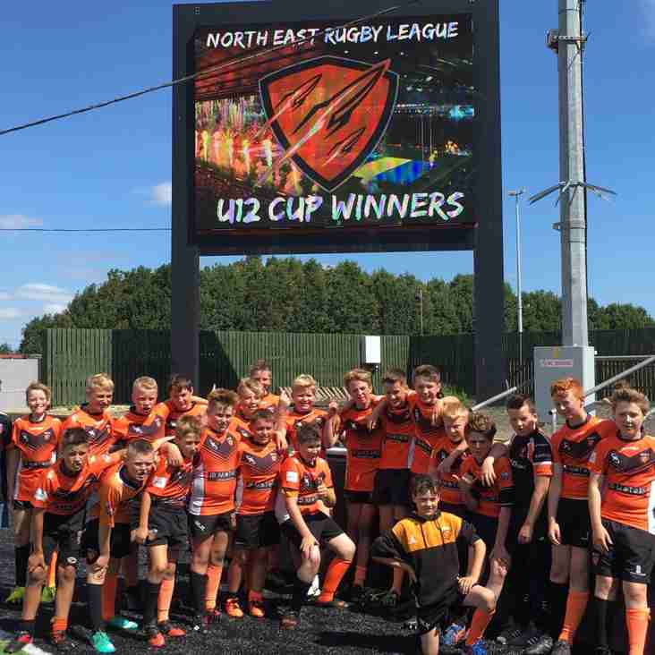 U12s Collect the Cup Again