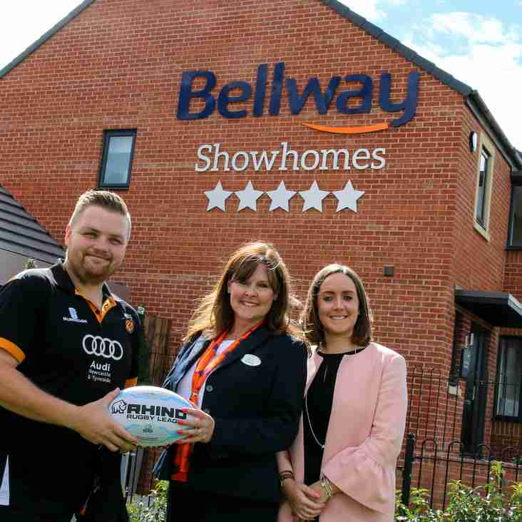 Bellway Homes help Cramlington Rockets Build a Better Community