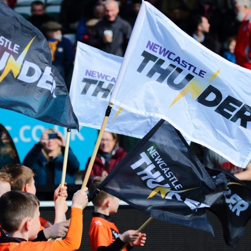 Get a Newcastle Thunder Season Ticket for a Tenner
