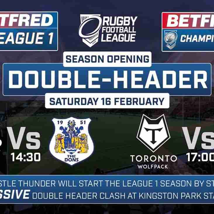 Mascot Opportunity with Toronto Wolfpack this Saturday
