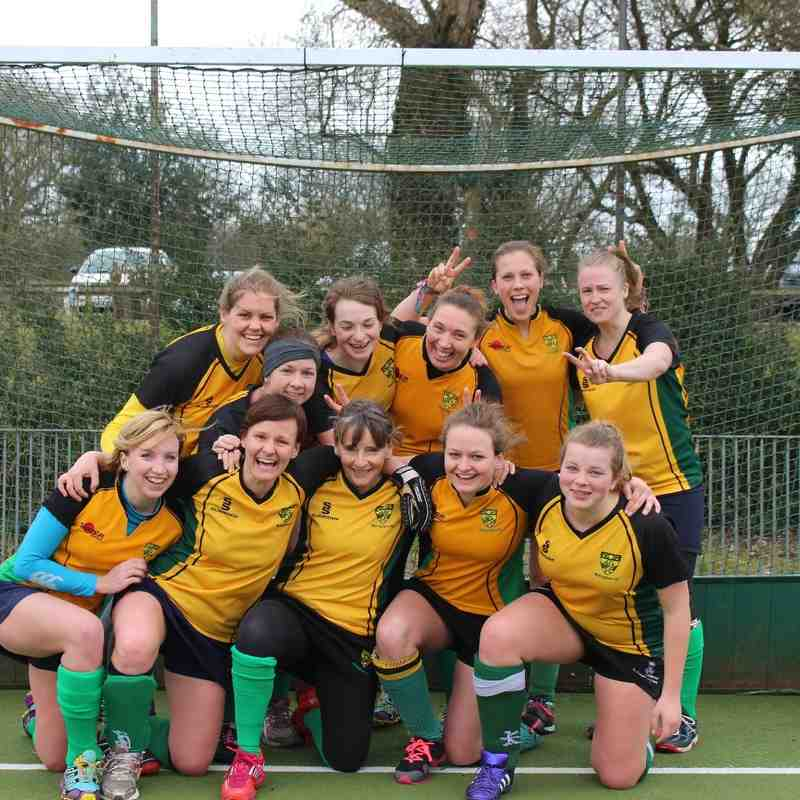 Ladies 1s - minus a few players!     (19/3/16)