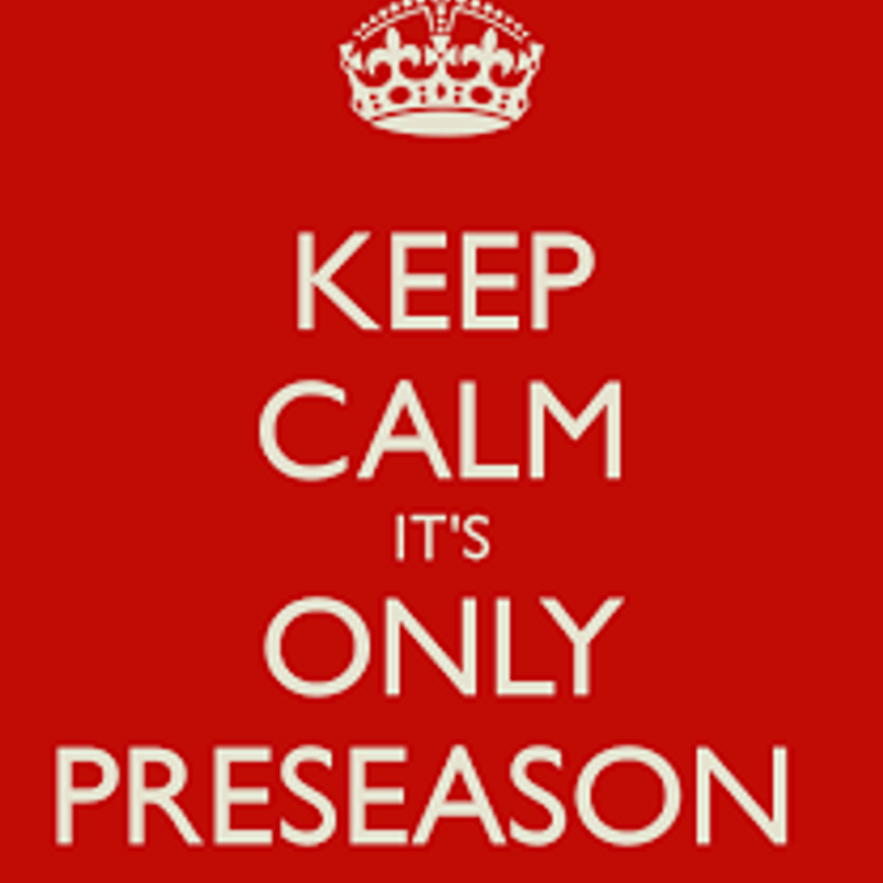 Pre Season 2017/18