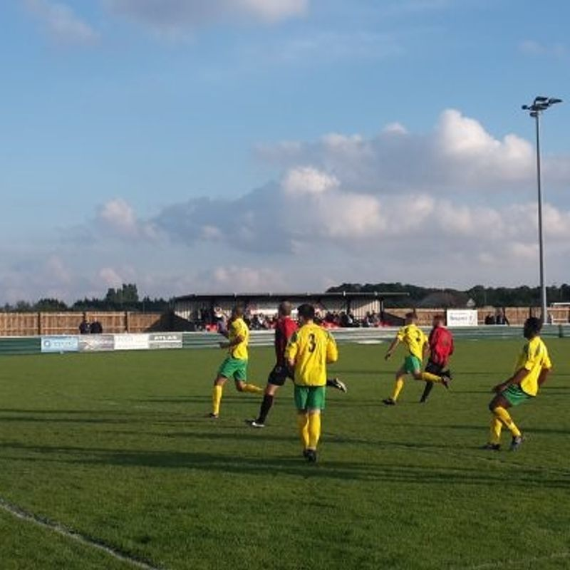 West Bridgford 0-2 Radford