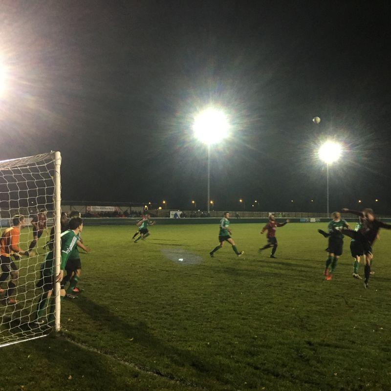 West Bridgford 1-0 Belper United
