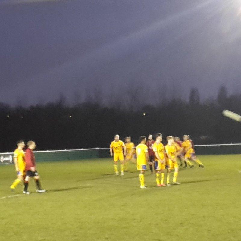 West Bridgford 3-0 Ellistown & Ibstock United